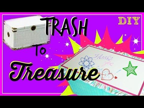 Trash to Treasure - DIY Toy Box