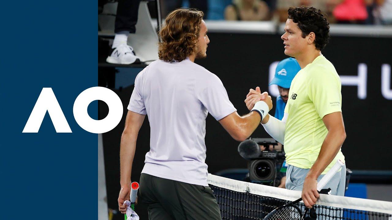 Stefanos Tsitsipas vs Milos Raonic - Extended Highlights (R3) | Australian Open 2020