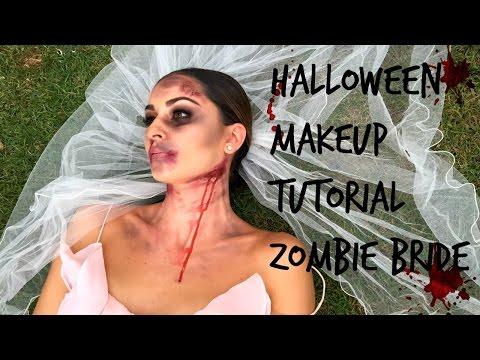 Easy Halloween Makeup Tutorial | Zombie Bride