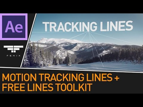 3D Motion Tracked Lines Effect + Free Lines Toolkit