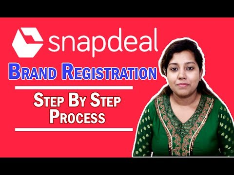 How to Get Snapdeal Brand Approval | Register your own Brand on Snapdeal in Hindi