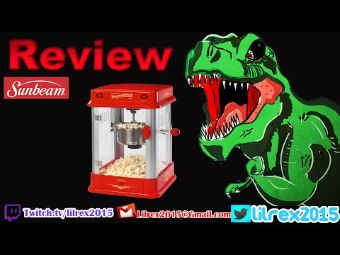 Sunbeam Popcorn Maker Review