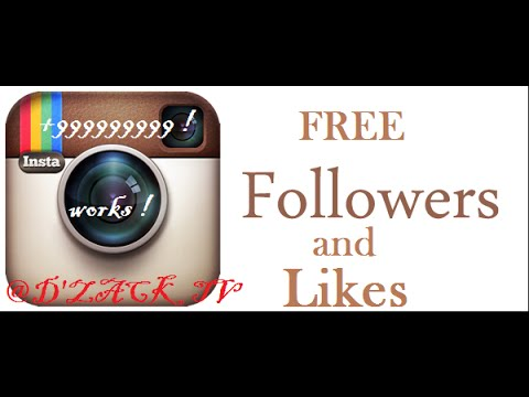 HOW TO GET FREE FOLLOWERS AND LIKES INSTAGRAM // WORKS 100%
