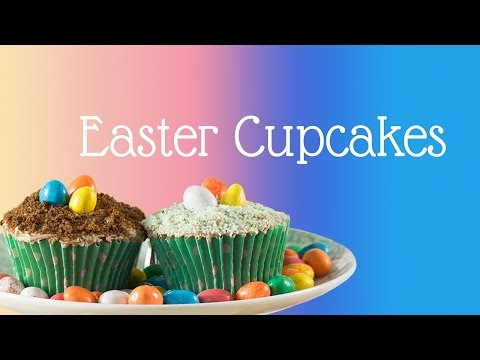 Easter Egg Cupcakes (EASY!)