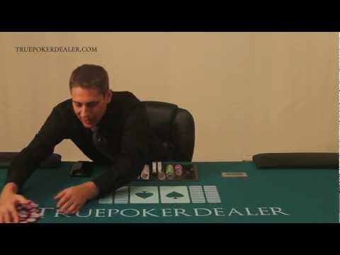 How to Deal Poker - How to Handle Chips