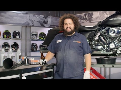 How to Change Motorcycle Oil at RevZilla.com