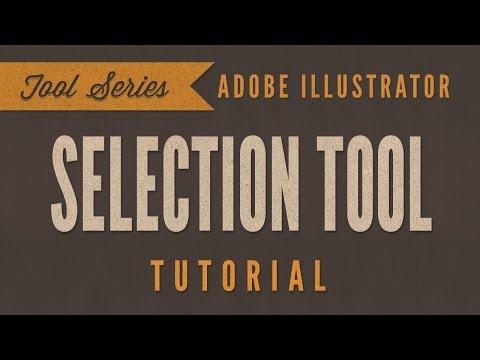 Adobe Illustrator CS6 CC Tutorial *BEGINNER* - Selection Tool