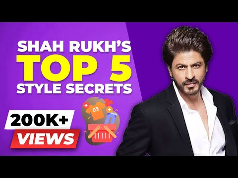 How EVERY MAN Can Dress Like A Superstar - Shahrukh Khan Fashion Breakdown   BeerBiceps Men's Style