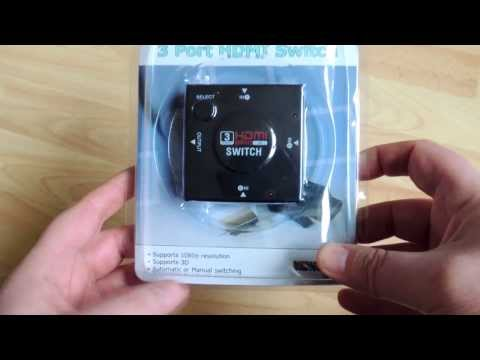 NewLinx 3 Port HDMI 1080p 3D Manual & Auto Switch Review