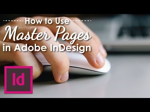 How to use Master Pages in Adobe InDesign CS6
