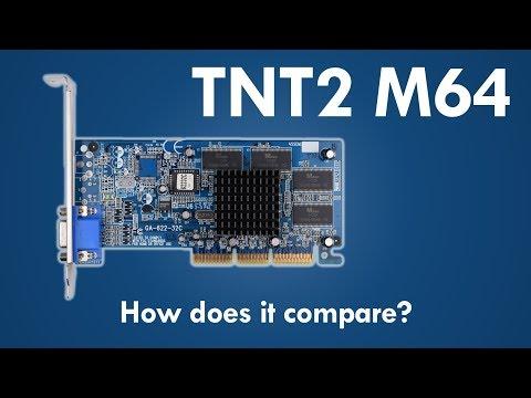 NVIDIA RIVA TNT2 M64 vs TNT vs TNT2