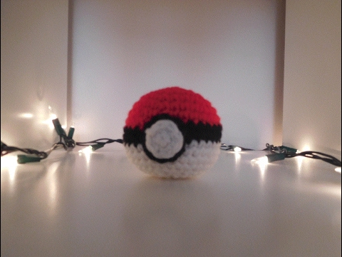 Crochet Pokéball Tutorial