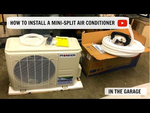 How to Install a Mini-Split Air Conditioner , A/C , Heat Pump , Air Conditioning