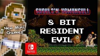 Resident Evil Revelations Nintendo Switch | 2 New Resident Evil Retro 8 Bit Mini-Games
