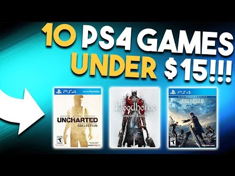 10 Awesome PS4 Games for UNDER $15 Right Now!