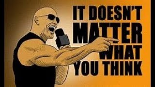 THE ROCK IT DOESN