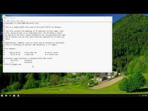 How to Block Websites in Windows (No Programs Needed)