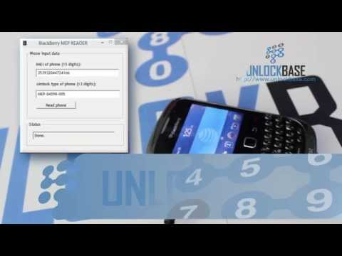 How to Find the MEP using Cable Method on a BlackBerry