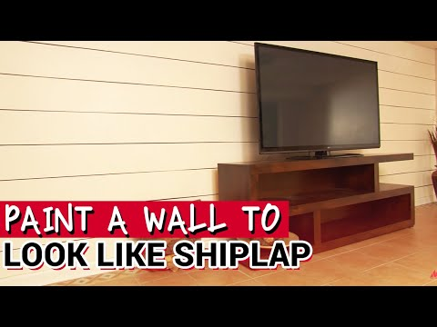 How To Paint A Wall Like Shiplap or Planking - Ace Hardware