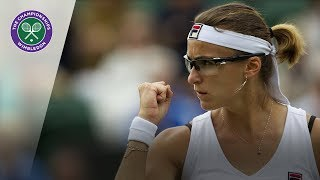 Yaroslava Shvedova wins Golden Set at Wimbledon