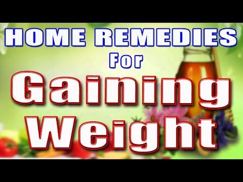 HOME REMEDIES & TIPS FOR GAINING WEIGHT II वज़न बढ़ाने के लिए नुस्खे और घरेलू उपचार