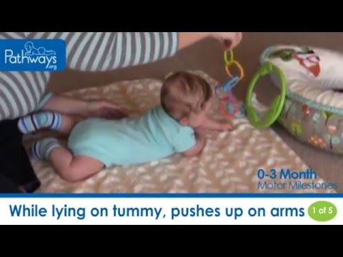 The 0 to 3 Month Baby Motor Milestones to Look For
