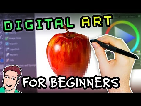 Digital Art for Beginners: How to Get Started Quickly