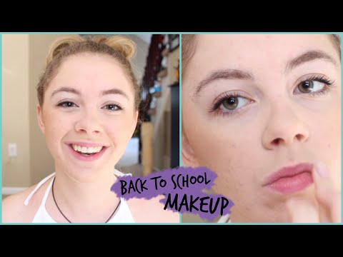 Easy Back to School Makeup Tutorial