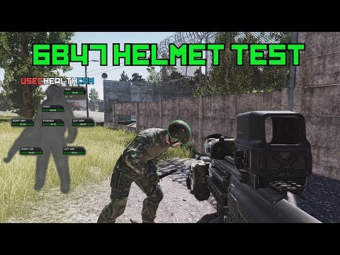 Testing The 6B47 Helmets Threshold - Escape From Tarkov