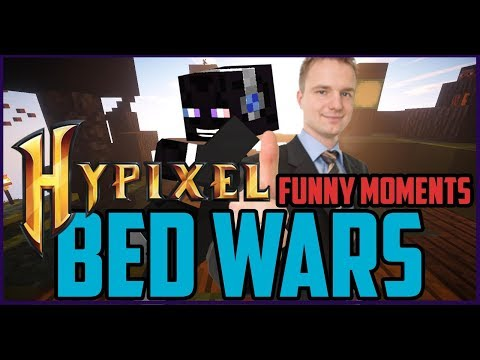 Minecraft BedWars Funny Moments (Hypixel Minecraft BedWars Funny Moments)