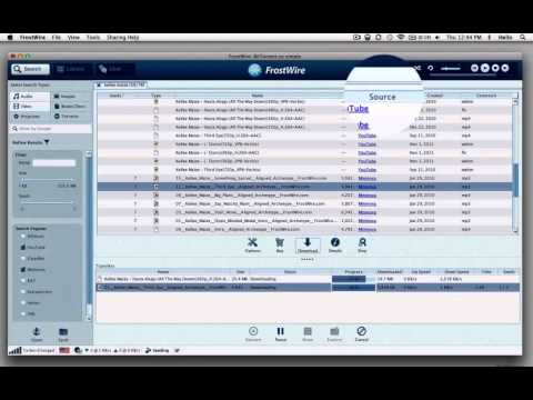 FrostWire How To Search and Download