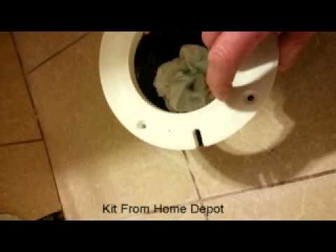 Toilet Flange Too Low - Great Solution!