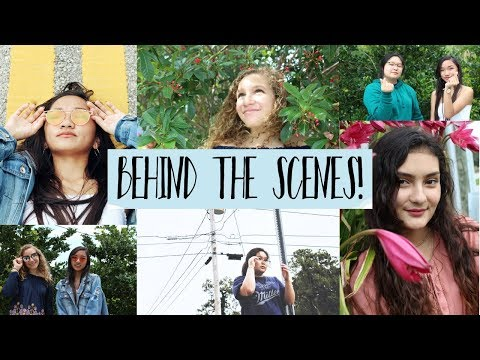 BEHIND THE SCENES PHOTOSHOOT!!! w/Friends!! | How I Take My Instagram Pictures