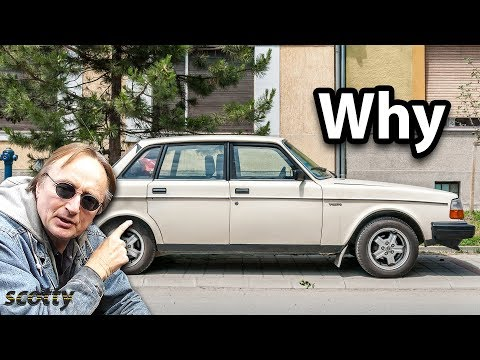 Here's Why this Old Volvo 240 was Built like a Tank and Lasts Forever