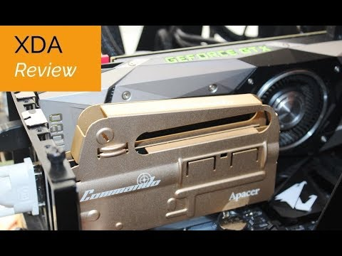 Apacer Commando m.2 SSD / Blade Fire DDR4 Memory Review
