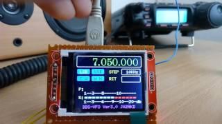 JA2NKD's Arduino controlled AD9850 DDS VFO - JH8SST/7 - PakVim net