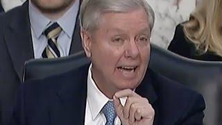 Lindsey Graham DESTROYS TRUMP: I WORRIED HE