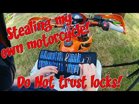 Stealing my own motorcycle!