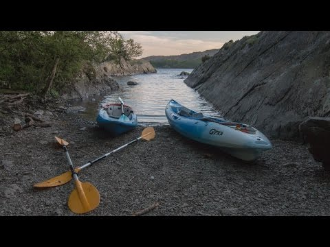 Kayaking On Coniston. The Lake District