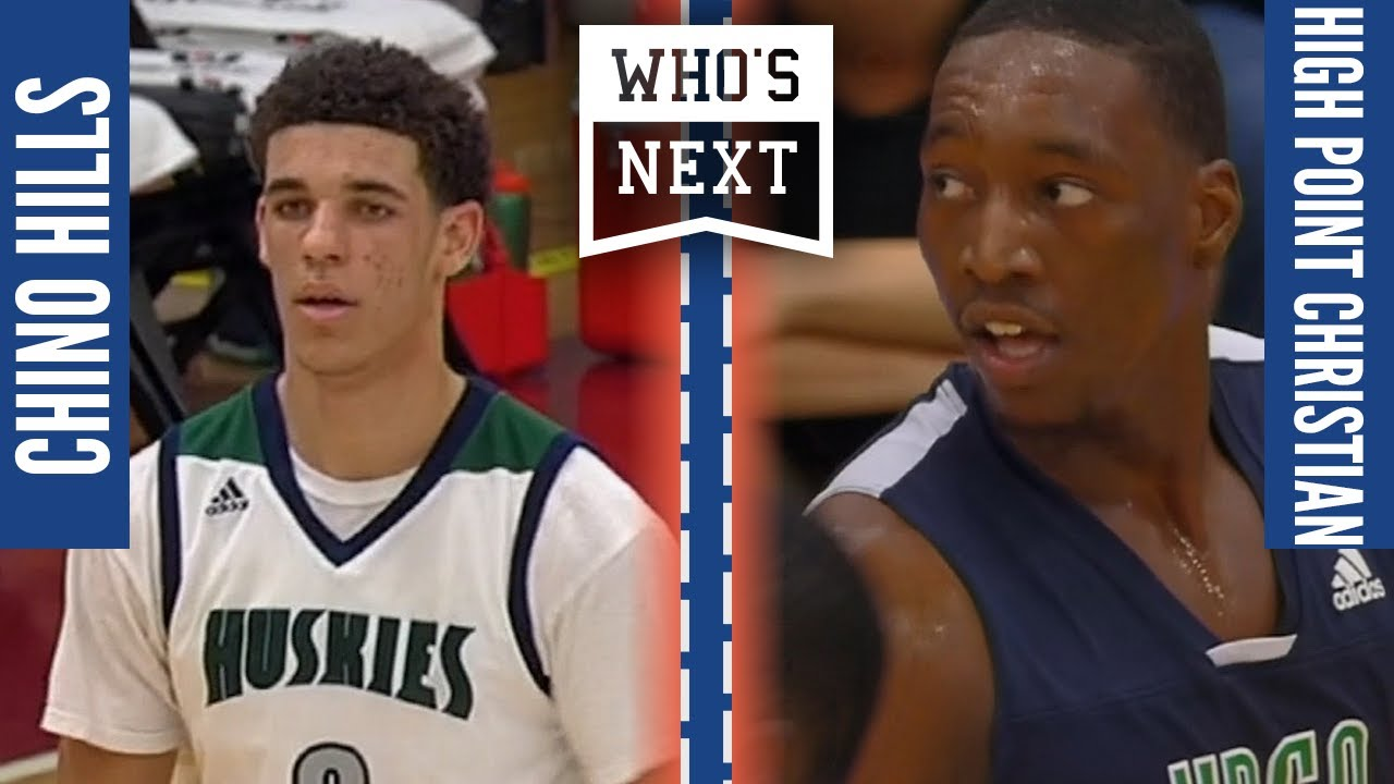 Who's Next Rewind - #1 Chino Hills (CA) vs High Point Christian (NC) ESPN Broadcast Highlights