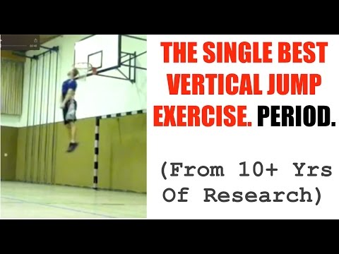 Our Single Best Vertical Jump Exercise.  Period. (Developed From 10+ Years of Research)