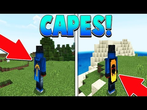 How to get CAPES in MCPE 1.4!!! 😱 - Minecraft PE (Pocket Edition)