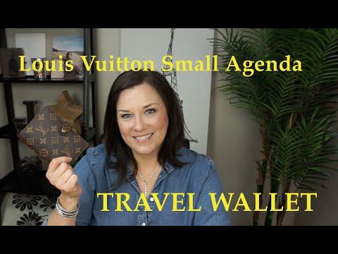 LOUIS VUITTON SMALL AGENDA | TRAVEL WALLET