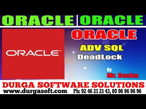 Oracle Tutorial || Oracle|Adv Sql | Deadlock by basha