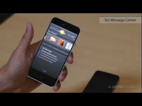 iPhone 5 Features New [2 of 3] -- Fingerprint Scan & Siri Message Center