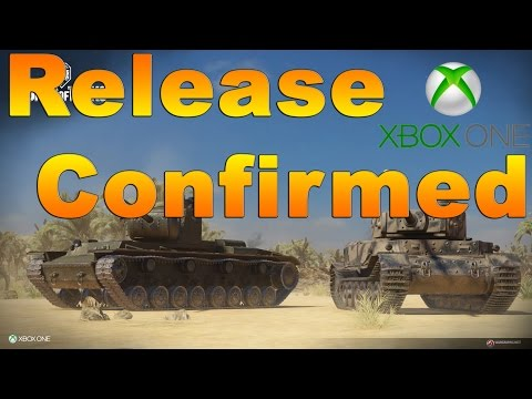 World of Tanks Xbox One Release Date Confirmed!