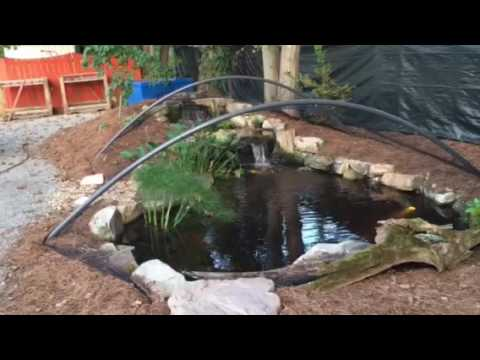 Pond netting and pond cleaning services in Nashville, Tn