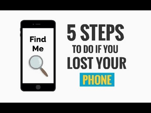 5 Steps To Do If You Lost Your Phone