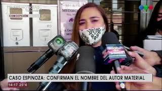 Caso Espinoza: Confirmaron quién es el que lo asesinó