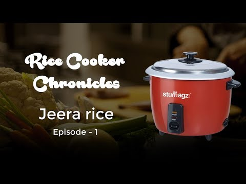 Rice Cooker Chronicles Episode 1: Jeera Rice